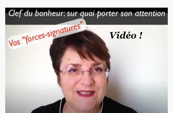 """Retrouver la motivation par l'utilisation de nos """"forces-signatures"""""""