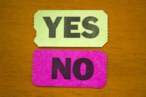"""Quand dire """"non"""" est une torture, et accepter un poison lent"""