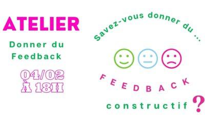 "Atelier ""Donner du feedback"""